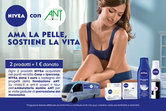 Locandina Nivea for ANT